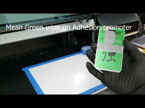 Mean Green UV Adhesion Wipes From PDS Equipment