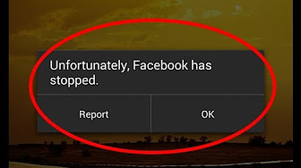 unfortunately facebook has stopped nox app player - YouTube