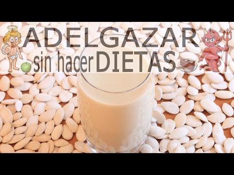 LECHE DE SEMILLAS DE CALABAZA # ADELGAZAR SIN HACER DIETAS