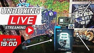 Unboxing Gopro Hero 8 Black na żywo