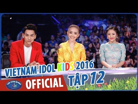 VIETNAM IDOL KIDS - THẦN TƯỢNG ÂM NHẠC NHÍ 2016 - GALA 6 - FULL HD