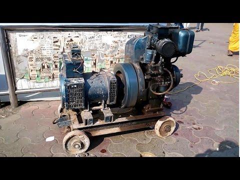 Diesel Electricity Generator Model India 2014 [HD VIDEO]
