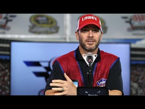 Jimmie Johnson lends a hand for hurricane relief