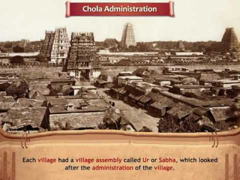 The Chola Administration