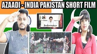 AZAADI | INDIA - PAKISTAN INDEPENDENCE DAY SHORT FILM | Indian Reaction - Krishna Views