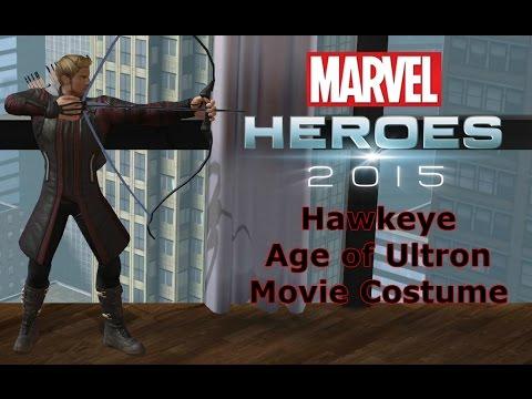 Marvel Heroes Hawkeye  Age of Ultron Movie  Costume & Marvel Heroes: Hawkeye