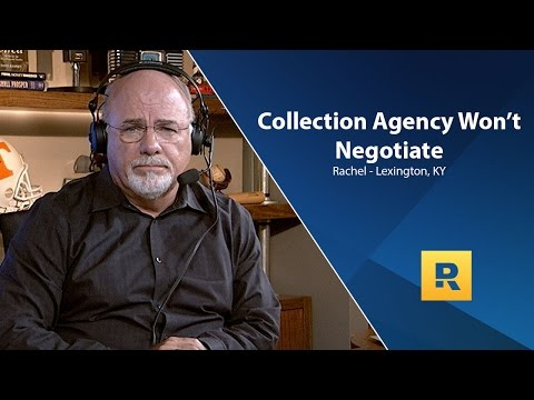 Collection Agency Won't Negotiate With Me