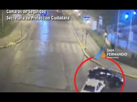 Las Cámaras de San Fernando registran choque y envían rápida ayuda