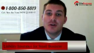 Liability Insurance for Small Business - liability insurance for small business