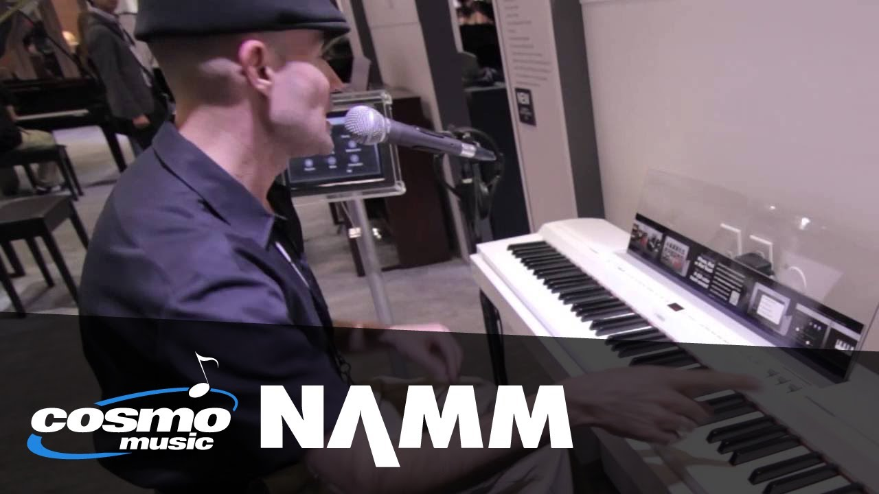 yamaha p 255 digital piano p 255 controller app cosmo music at namm 2014 youtube. Black Bedroom Furniture Sets. Home Design Ideas