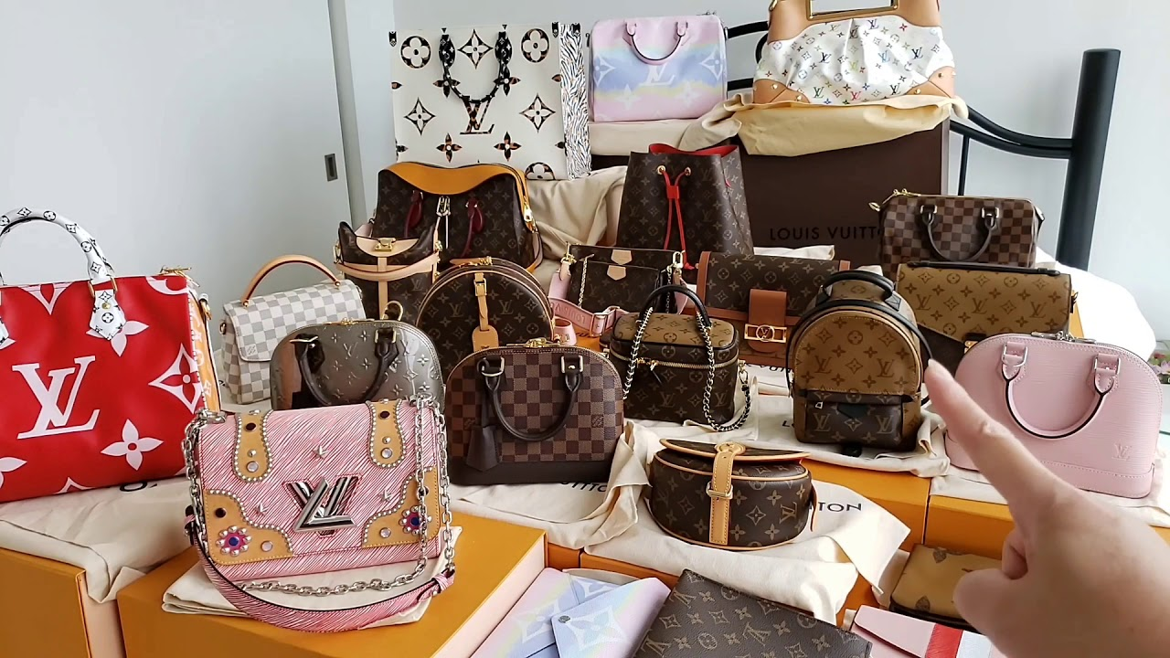 My ENTIRE Louis Vuitton Bags Collections *please click on links below to watch individual bag videos