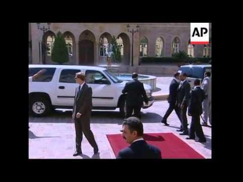 Condoleezza Rice visits Beirut, meets Lebanese leaders