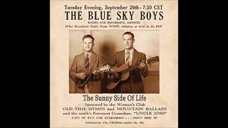 Little Bessie - The Blue Sky Boys