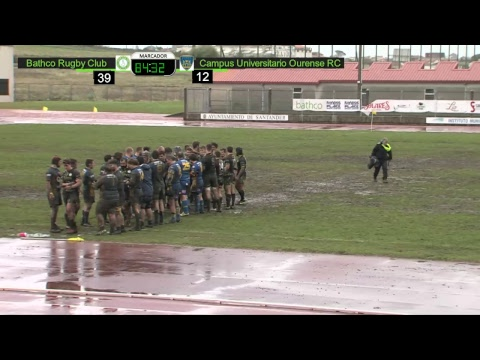 Retransmisión Bathco Rugby Club vs Campus Universitario Ourense RC