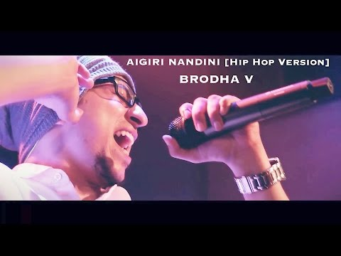 AIGIRI NANDINI [Hip Hop Version] - Brodha V LIVE in Bangalore