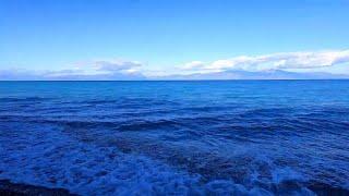 Красивое море . Шум моря . Музыка природы .