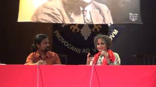"Complete discussion Suryakanth and Arundhathi Roy on ""The Doctor and the saint"""