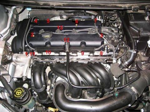 Замена прокладки клапанной крышки Ford Focus 2