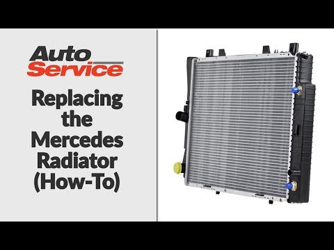 Replacing the Mercedes Radiator