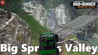 SpinTires MudRunner: NEW MAP! Big Springs Valley