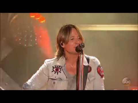 Keith Urban - Never Comin Down - Live
