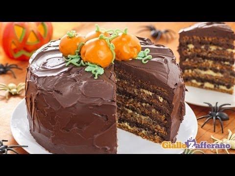 Halloween layer cake - recipe