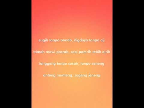 So Imah - Sugih Tanpo Bondo Full Version