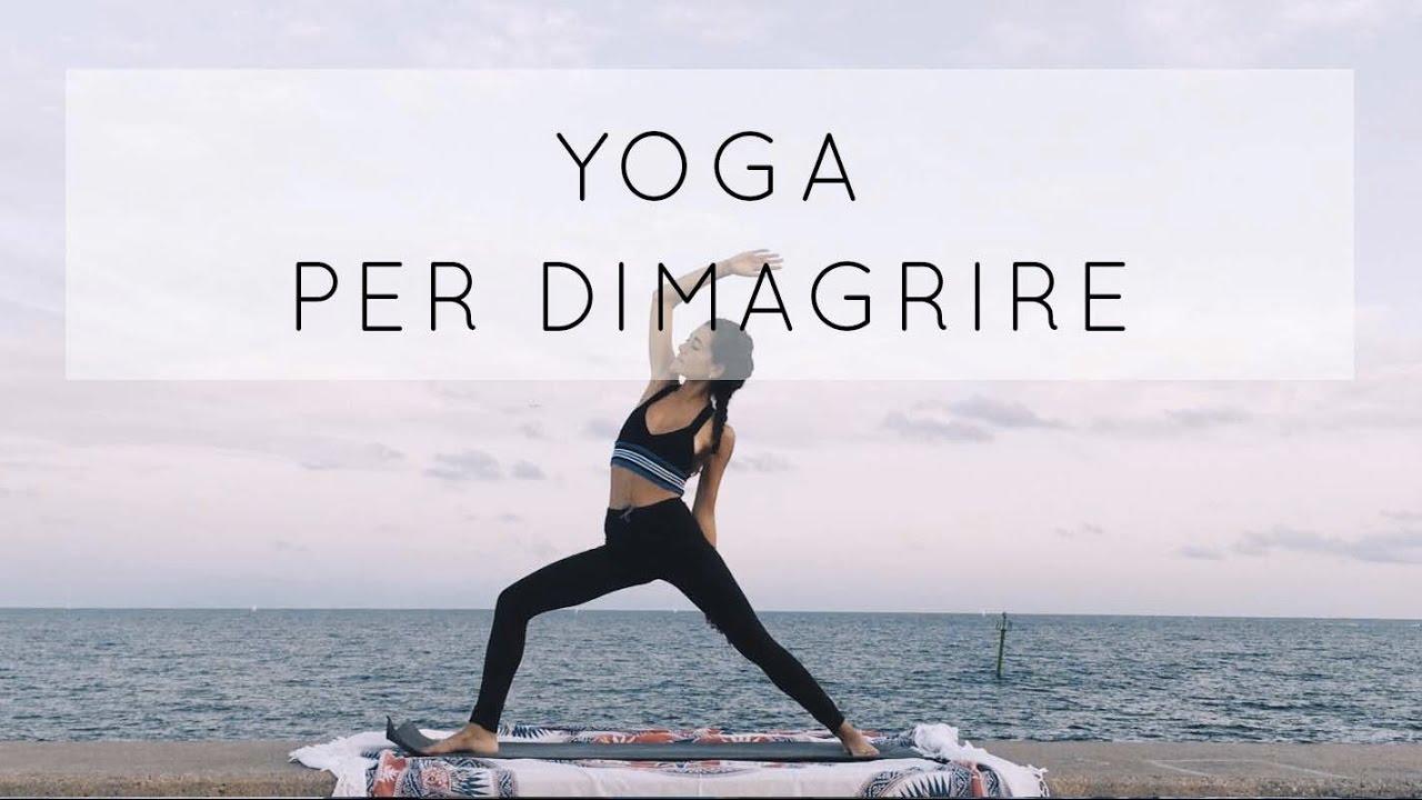 allenamento yoga per perdere peso