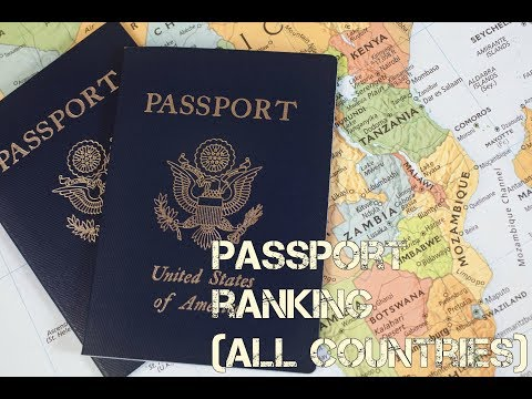 Passport Ranking (2018)