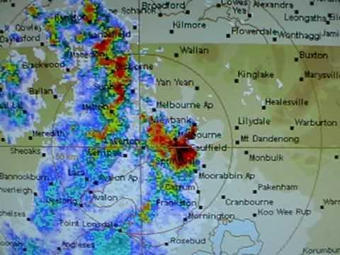 Melbourne Weather Radar