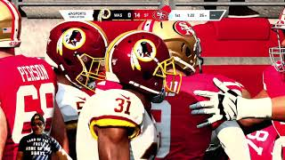 Madden NFL 20 - The Washington Redskins Vs The San Francisco 49ers - All Madden 1080p