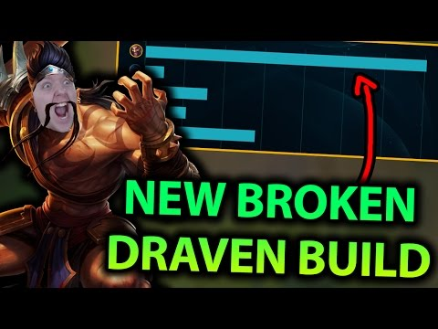BEST ADC IN PATCH 7.9?! NEW DRAVEN BUILD IS COMPLETELY BROKEN!! (INSANE DAMAGE) - League of Legends