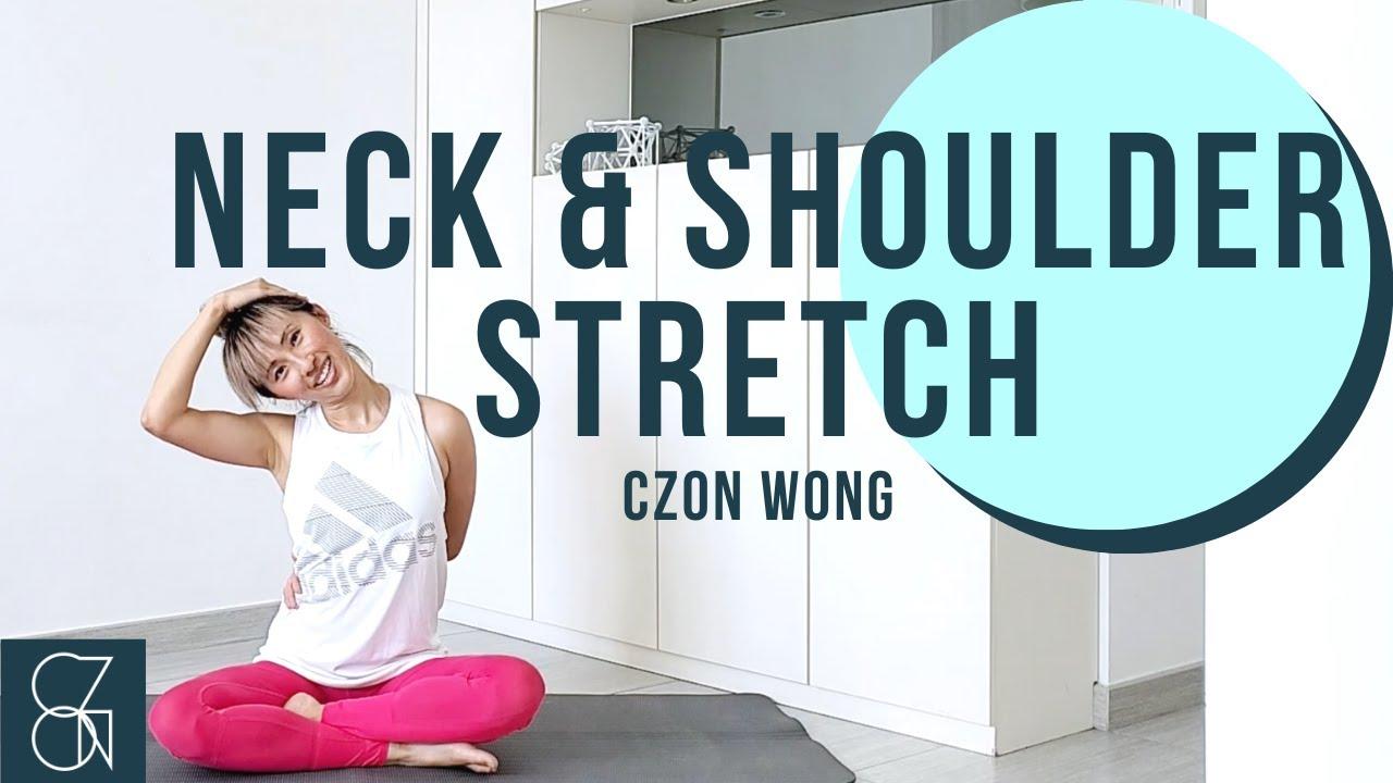 預防瞓捩頸 簡單睡前肩頸拉伸