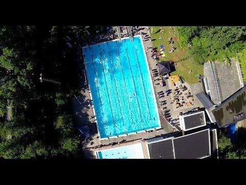 1eDivisie Triathlon - UT-Triathlon 2014 met Drone