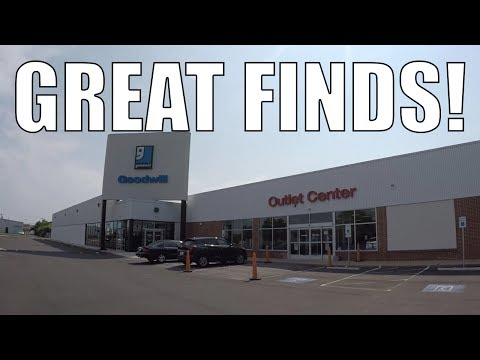 HUGE PROFIT at the Goodwill Oulet Store!! Thrifting Vlog