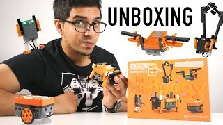 UNBOXING & LETS PLAY! - ITTY BITTY BUGGY - 5 in 1 Modular Robotic STEM Kit by Microduino