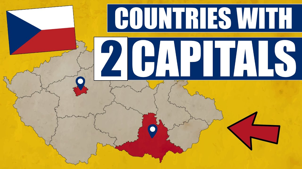 Countries That Have 2 Capitals