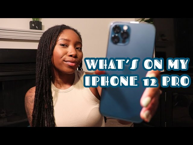 What's On My iPhone 12 Pro?! iOS 14 customization ✿