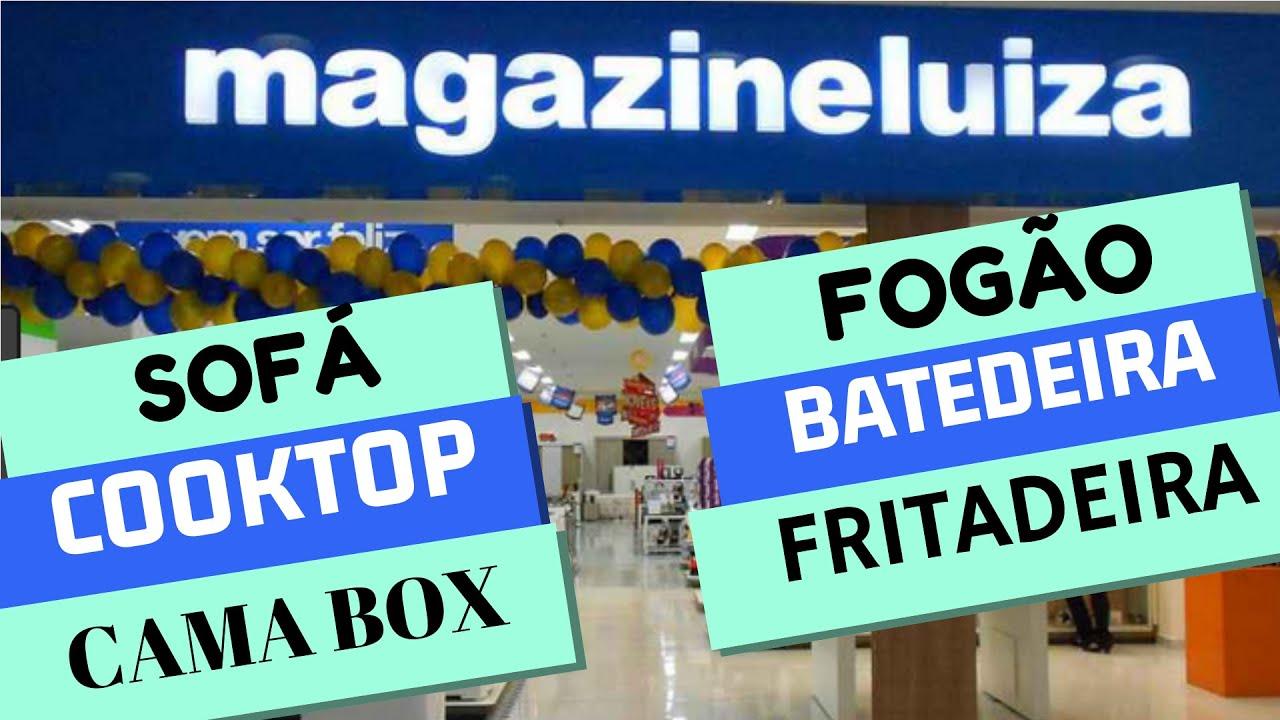MAGAZINE LUIZA OFERTAS de FOGÃO SOFÁ CAMA BOX COOKTOP ...