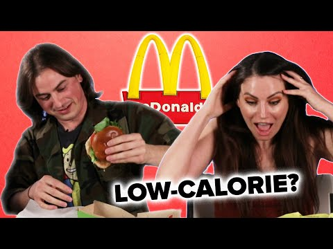 We Try Low-Calorie Menu Items From McDonald's