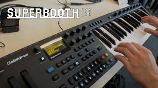 Elektron Digitone Keys - клавишная версия синтезатора (Superbooth19)