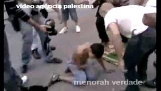 Menorah rapidinhas na TV 15-out-2010 Apedrejamento Montado em Israel