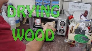 Drying Wood for Stabilizing or Casting in Resin