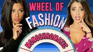 NikiAndGabi's Model Off Duty Look! Wheel Of Fashion