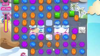 Candy Crush Saga Level 1632 with 3 stars,  NO BOOSTERS!