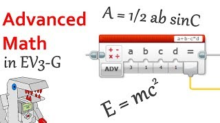 Advanced Math Operations in EV3-G - Programming Tutorial