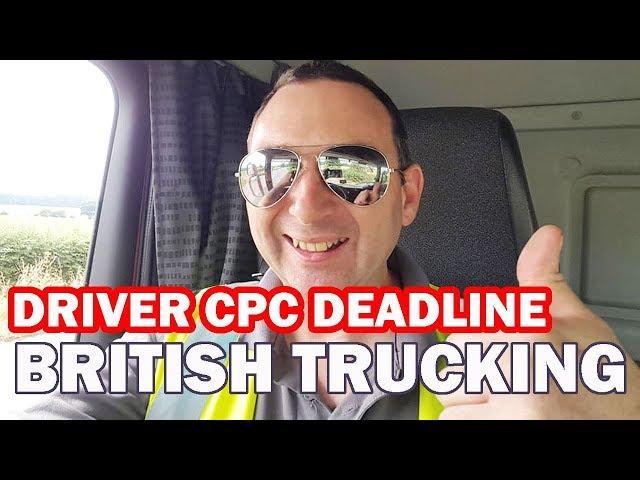 Driver CPC Deadline Periodic HGV Driver CPC