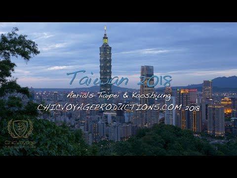 TAIWAN 2018 STOCK FOOTAGE - TAIPEI AND KAOSHIUNG