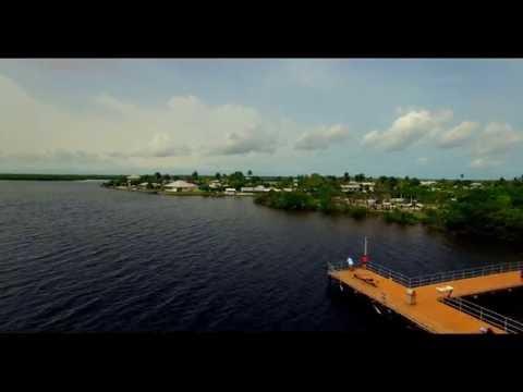 MATLACHA ( COMMUNITY PARK ) FLORIDA   (HD) AERIAL