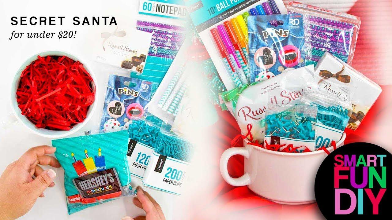 Secret Santa Gift Ideas For Under 10 20 Cheap